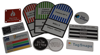 Other Label Options manufactured in Australia by Metal Sign and Label
